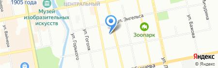 Банкомат ФКБ ТрансНациональный Банк на карте Екатеринбурга