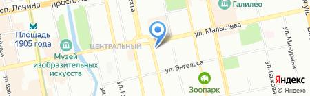 Компакт-Диск на карте Екатеринбурга