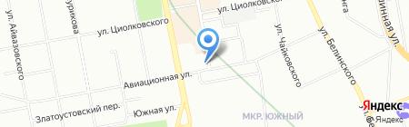 Три ватрушки на карте Екатеринбурга