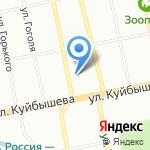 Моне на карте Екатеринбурга