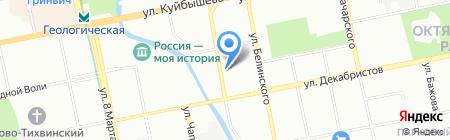 СтальИнвест на карте Екатеринбурга