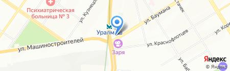 АВТОЭГОИСТ на карте Екатеринбурга