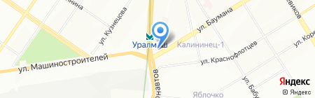 Золото 585 на карте Екатеринбурга