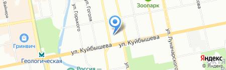 Банкомат Экспобанк на карте Екатеринбурга