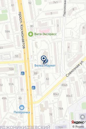 33комода на карте Екатеринбурга