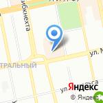 Толиман на карте Екатеринбурга