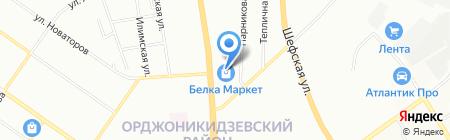 Отдел СтоЛичных сладостей на карте Екатеринбурга