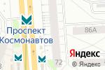 Схема проезда до компании КБ Ренессанс кредит в Екатеринбурге