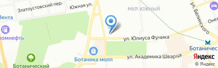 Кулинаръ на карте Екатеринбурга