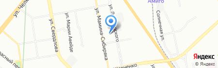 Свердловское протезно-ортопедическое предприятие на карте Екатеринбурга