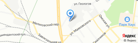 АВТОБАВАРИЯ на карте Екатеринбурга