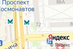 Схема проезда до компании Счастливый взгляд в Екатеринбурге