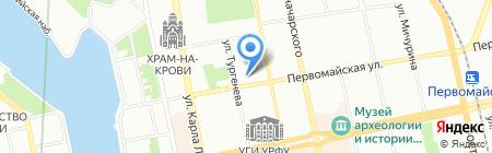 Ренессанс Жизнь и Пенсии на карте Екатеринбурга