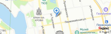 СиЭс Медика Урал на карте Екатеринбурга