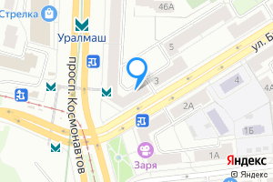 Комната в однокомнатной квартире в Екатеринбурге Баумана 1