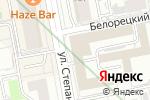 Схема проезда до компании Торэкс Урал в Екатеринбурге