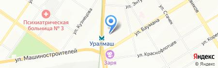 ЕРТ-Групп на карте Екатеринбурга