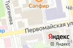 Схема проезда до компании Салон-парикмахерская в Екатеринбурге