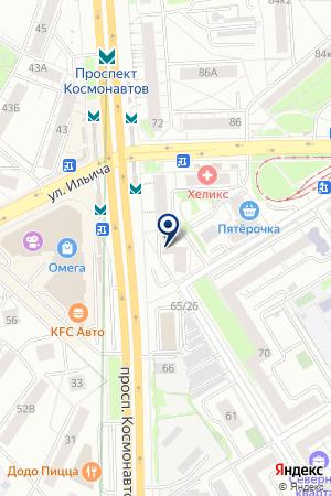 ENJOY Rhythm Club на карте Екатеринбурга