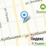 IndRa на карте Екатеринбурга