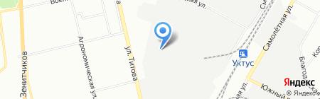 Прогресс-Авто на карте Екатеринбурга