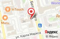 Схема проезда до компании Портал Вкус в Екатеринбурге