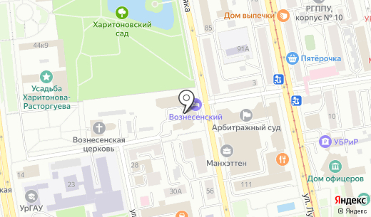 ЕНИСЕЙ. Схема проезда в Екатеринбурге