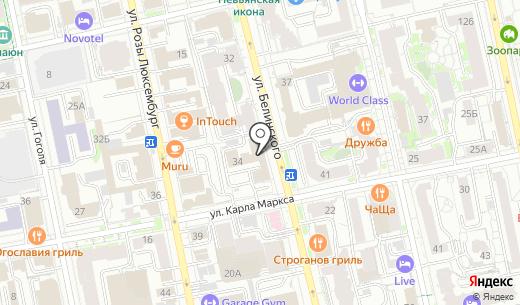 Интмедиа-Урал. Схема проезда в Екатеринбурге