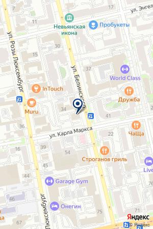 Гражданское право на карте Екатеринбурга