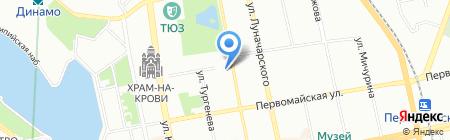 КреативЭлектро на карте Екатеринбурга