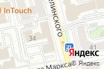 Схема проезда до компании Prezent в Екатеринбурге