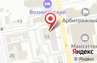 Схема проезда до компании Полярис в Екатеринбурге