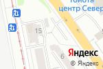 Схема проезда до компании АнтиДолг в Екатеринбурге