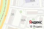 Схема проезда до компании ОТИС Лифт в Екатеринбурге