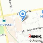 Квартал Федерация на карте Екатеринбурга