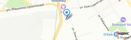 Детский сад №396 на карте Екатеринбурга