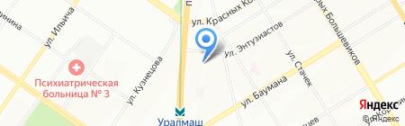 Энергоресурс-инжиниринг на карте Екатеринбурга