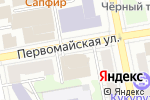 Схема проезда до компании Сатурн-Бонтел в Екатеринбурге