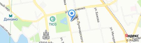 Уралвентиляция на карте Екатеринбурга