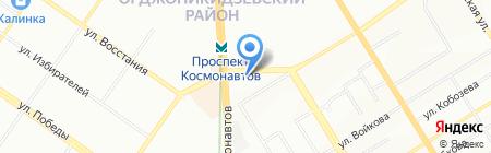 Мадам-Брошкина на карте Екатеринбурга