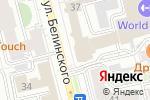 Схема проезда до компании Европрестиж в Екатеринбурге