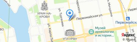 Гарант транс экспресс на карте Екатеринбурга