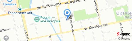 ЭЗОИС на карте Екатеринбурга