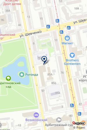 ЮСИ на карте Екатеринбурга