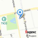 Дор-Сити на карте Екатеринбурга