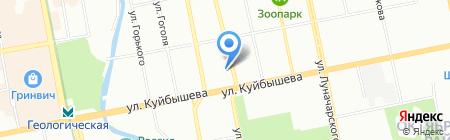 Белка Исеть Микроклимат на карте Екатеринбурга