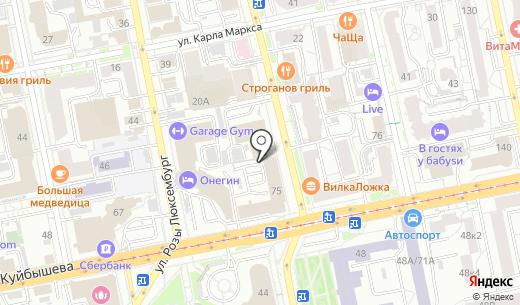 РеклаМастеР. Схема проезда в Екатеринбурге
