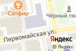 Схема проезда до компании James в Екатеринбурге