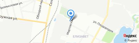 Екат+ на карте Екатеринбурга