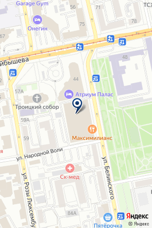 PANORAMA на карте Екатеринбурга
